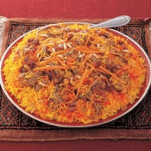Lamb Kabsa Recipe - Middle Eastern Food - Saudi Rice ...